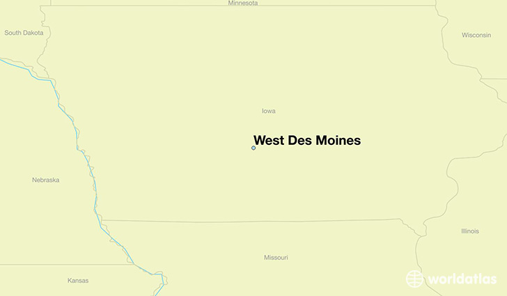 Where is West Des Moines, IA? / West Des Moines, Iowa Map ... on