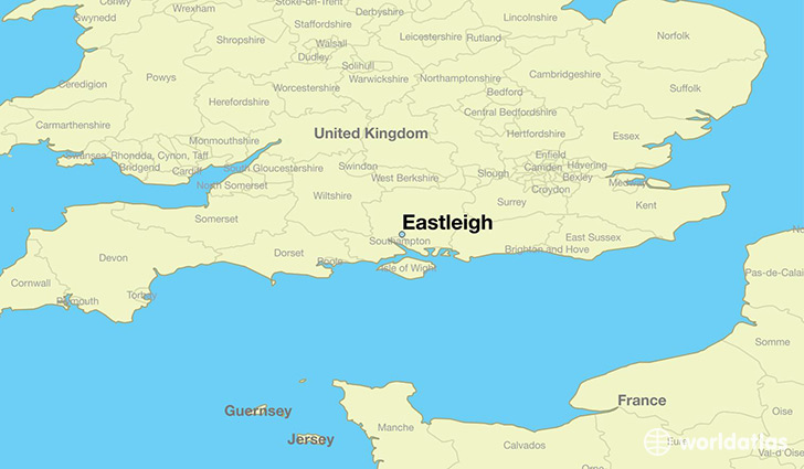 Eastleigh United Kingdom  city images : Where is Eastleigh, England / Where is Eastleigh, England Located in ...