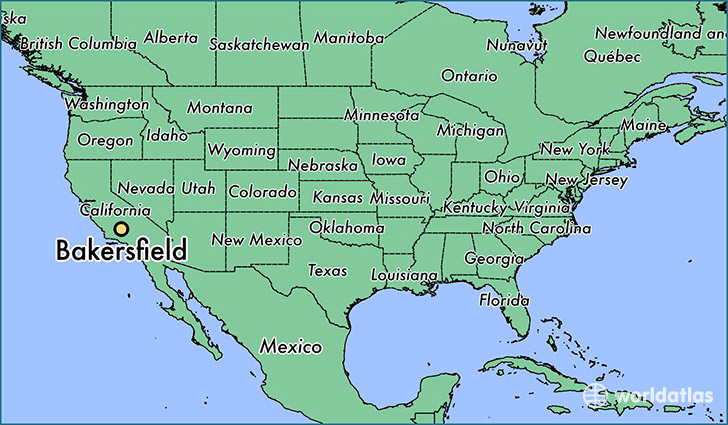 Map Of Bakersfield Ca Where is Bakersfield, CA? / Bakersfield, California Map
