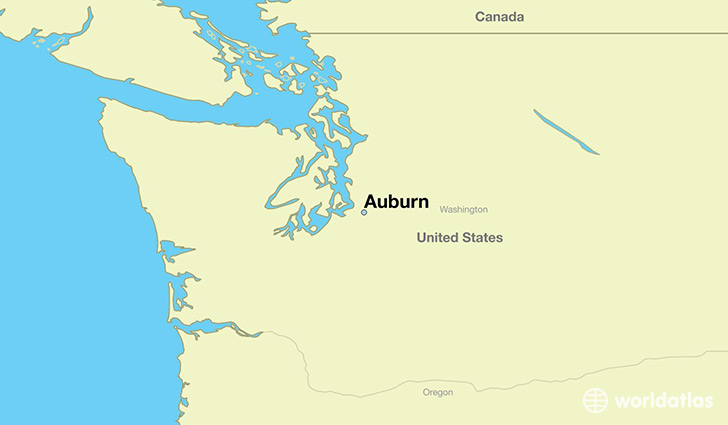 Where is Auburn, WA? / Auburn, Washington Map   WorldAtlas.com