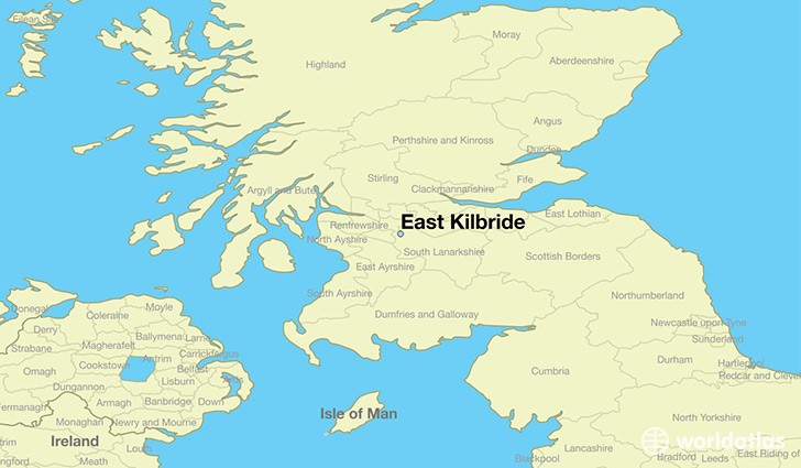 East Kilbride Map Where is East Kilbride, Scotland? / East Kilbride, Scotland Map