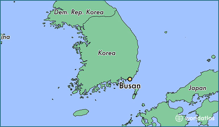 Where is Busan South Korea  Where is Busan South Korea Located