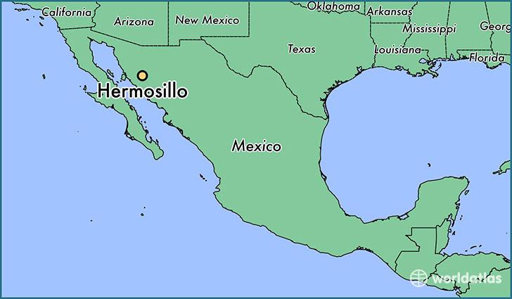 Hermosillo Mexico Map Where is Hermosillo, Mexico? / Hermosillo, Sonora Map   WorldAtlas.com Hermosillo Mexico Map