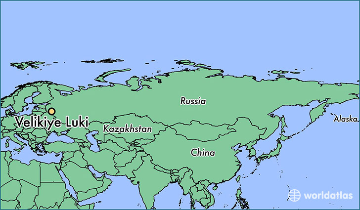 Where Is Velikiye Luki Russia Velikiye Luki Pskov Oblast Map - Velikiye luki map