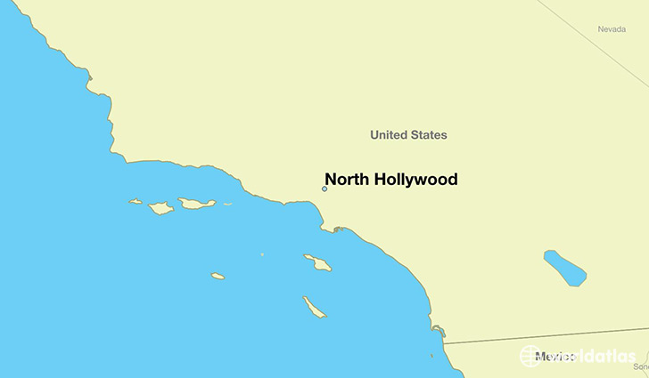 Where is North Hollywood, CA? / North Hollywood, California Map ...