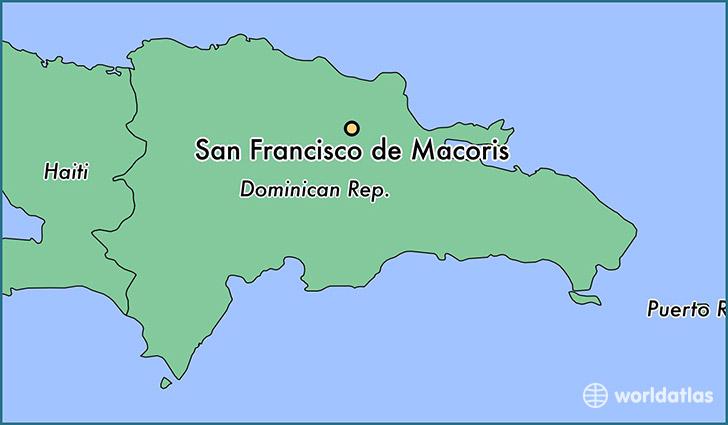 Where Is San Francisco De Macoris The Dominican Republic Where - Dominican republic major cities map