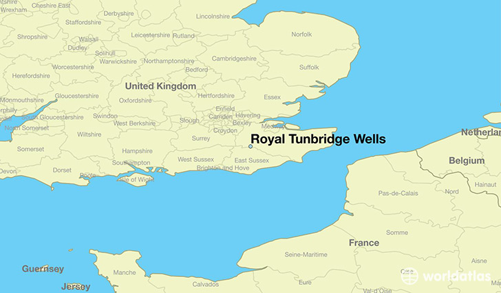 Tunbridge Wells Map Where is Royal Tunbridge Wells, England? / Royal Tunbridge Wells