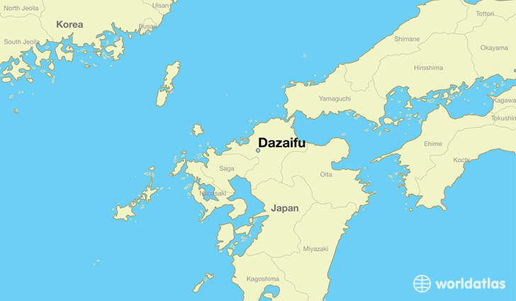 Dazaifu Japan  city pictures gallery : Where is Dazaifu, Japan / Where is Dazaifu, Japan Located in The ...