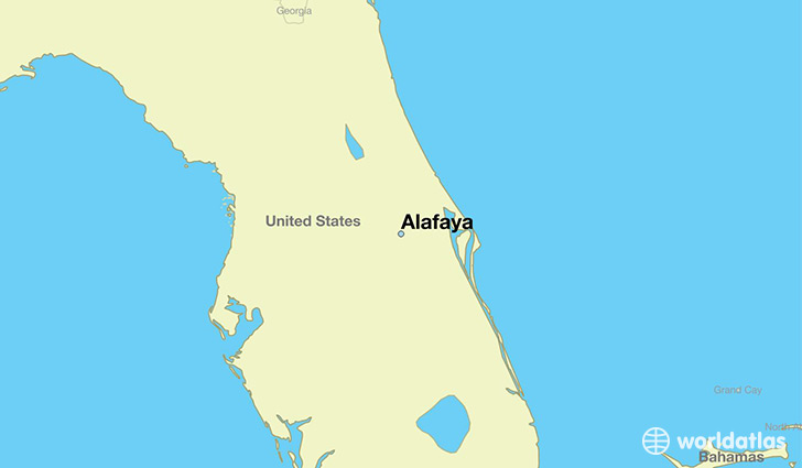 Where is Alafaya FL Alafaya Florida Map WorldAtlascom