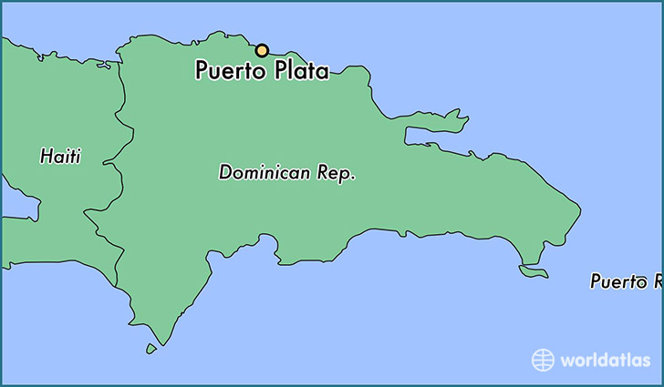 Where is Puerto Plata The Dominican Republic  Where is Puerto
