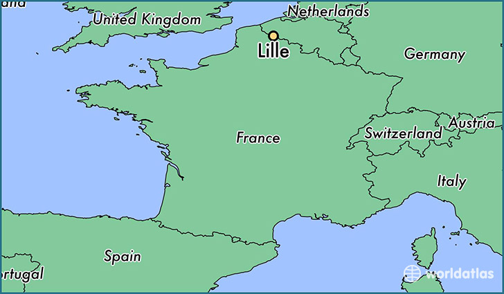where is lille france lille nord pas de calais map. Black Bedroom Furniture Sets. Home Design Ideas