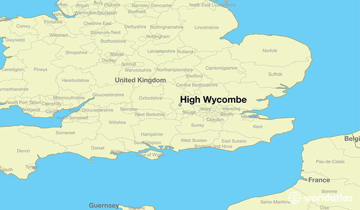 Map High Wycombe Where is High Wycombe, England? / High Wycombe, England Map