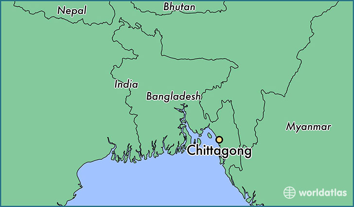 Where is Chittagong, Bangladesh? / Chittagong, Chittagong Map ...