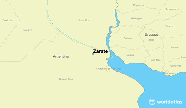 Where Is Zarate Argentina Where Is Zarate Argentina Located - Zarate argentina map