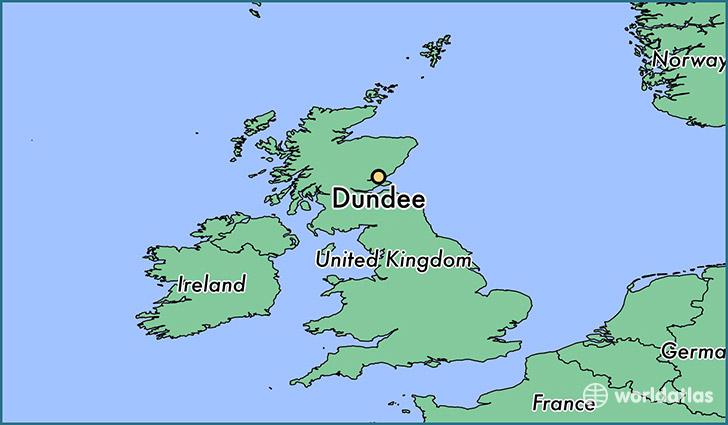 Dundee Scotland Map Where is Dundee, Scotland? / Dundee, Scotland Map   WorldAtlas.com