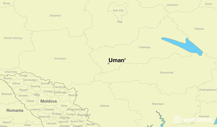 Where is Uman Ukraine  Where is Uman Ukraine Located in The
