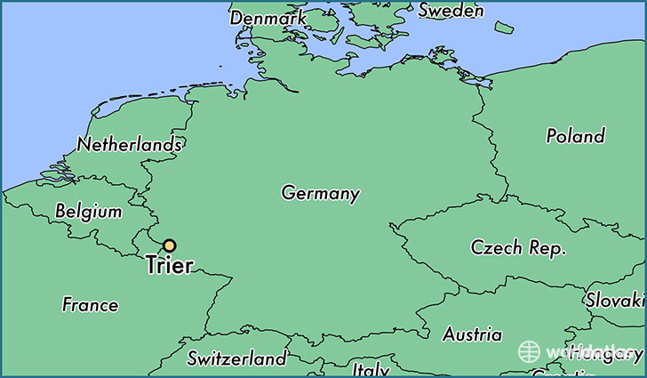 Where Is Trier Germany Where Is Trier Germany Located In The - Germany map trier