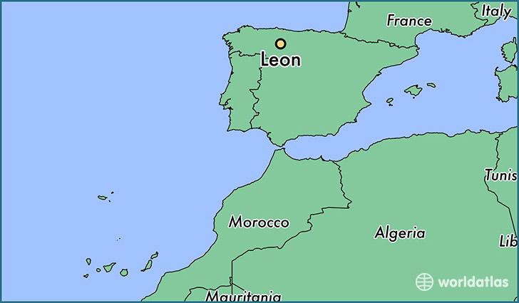 Map Of Spain Leon.Where Is Leon Spain Leon Castille And Leon Map Worldatlas Com