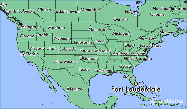 Map Of Ft Lauderdale Where is Fort Lauderdale, FL? / Fort Lauderdale, Florida Map