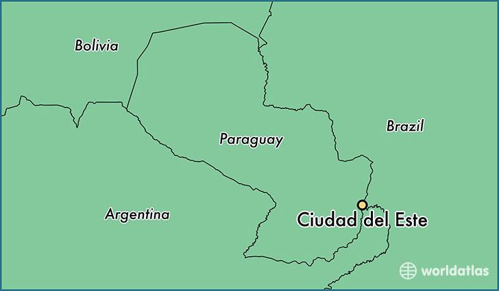 Where is Ciudad del Este Paraguay Ciudad del Este Alto Parana
