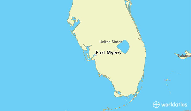 Where is Fort Myers, FL? / Fort Myers, Florida Map   WorldAtlas.com
