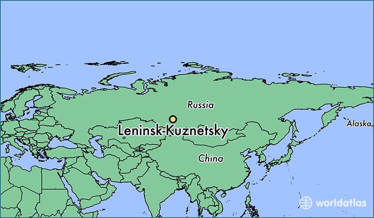 Where Is LeninskKuznetsky Russia LeninskKuznetsky Kemerovo - Leninsk map