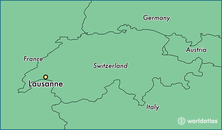 Where Is Lausanne Switzerland Where Is Lausanne Switzerland - Lausanne city map