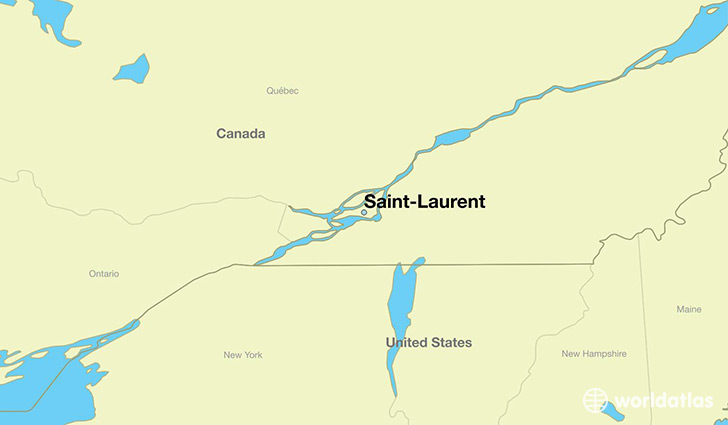 Where is Saint-Laurent, QC? / Saint-Laurent, Quebec Map