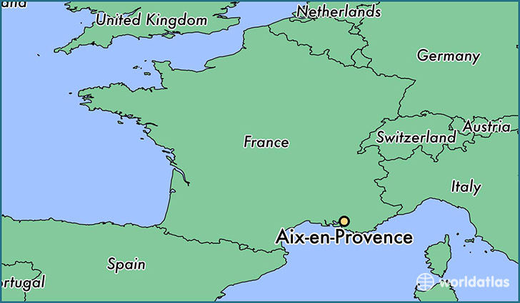 Provence Map Of France.Where Is Aix En Provence France Aix En Provence Provence Alpes