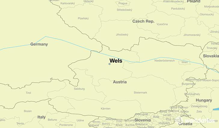 Where Is Wels Austria Where Is Wels Austria Located In The - Austria location