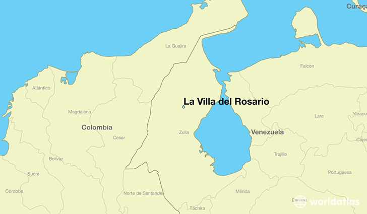 Where is La Villa del Rosario Venezuela La Villa del Rosario