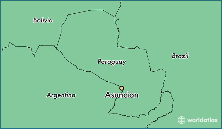 Where Is Asuncion Paraguay Where Is Asuncion Paraguay Located - Map of paraguay world
