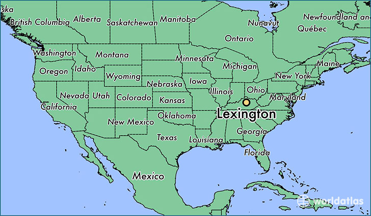 Where is Lexington KY Where is Lexington KY Located in The