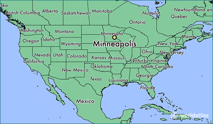 Where is Minneapolis, MN? / Minneapolis, Minnesota Map