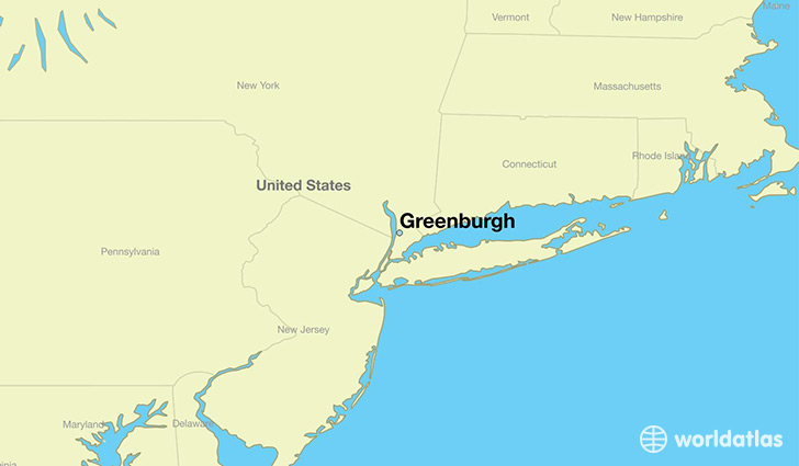 map showing the location of Greenburgh