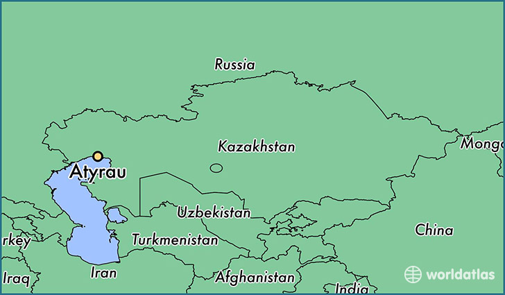 Where is Atyrau, Kazakhstan? / Atyrau, Atyrau Map ...
