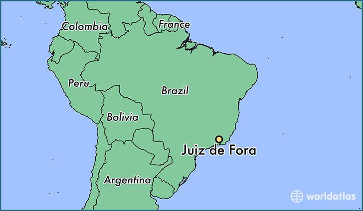 where is juiz de fora  brazil     juiz de fora  minas