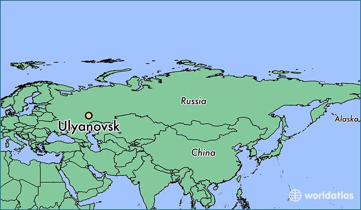 Where is Ulyanovsk Russia  Where is Ulyanovsk Russia Located