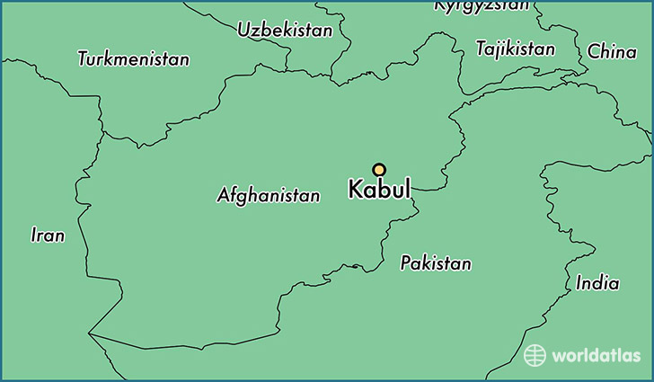 Where is Kabul, Afghanistan? / Kabul, Kabul Map - WorldAtlas.com