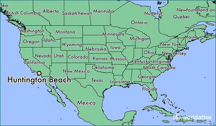 Map Of Huntington Beach Where is Huntington Beach, CA? / Huntington Beach, California Map