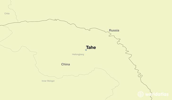 Where is Tahe, China? / Tahe, Heilongjiang Map ...