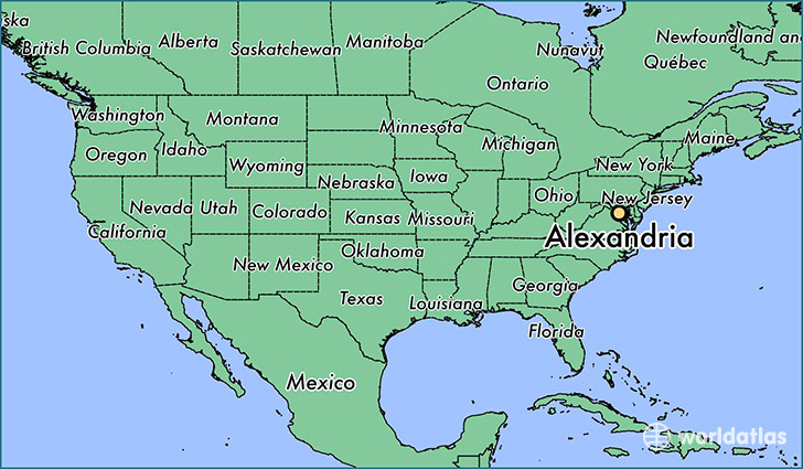 Where is Alexandria VA Where is Alexandria VA Located in The