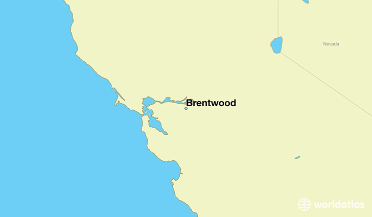 Where is Brentwood, CA? / Brentwood, California Map   WorldAtlas.com