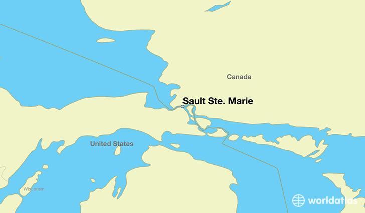 Where is Sault Ste. Marie, ON? / Sault Ste. Marie, Ontario ...
