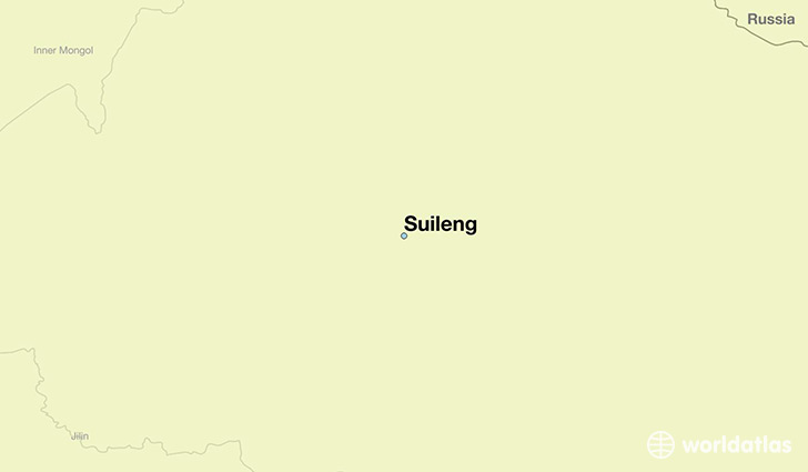 map showing the location of Suileng