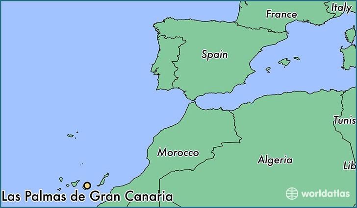 ... de Gran Canaria, Spain?