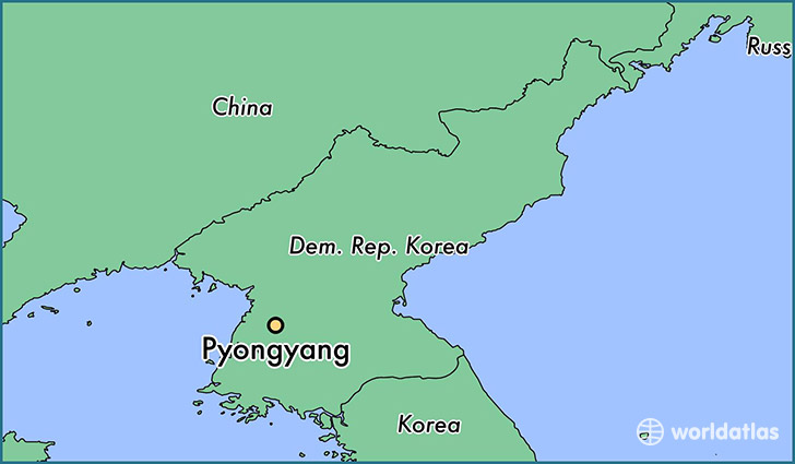 Where is Pyongyang, North Korea? / Pyongyang, Pyongyang Map