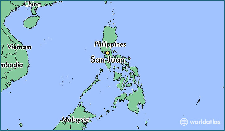 Where Is San Juan The Philippines Where Is San Juan The - Map us laatitude san juan