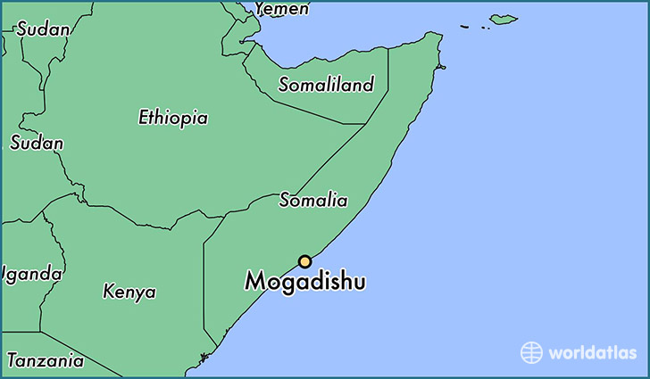 Where is Mogadishu Somalia Where is Mogadishu Somalia Located