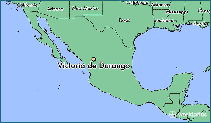 Map Of Texas Victoria.Where Is Victoria De Durango Mexico Victoria De Durango Durango